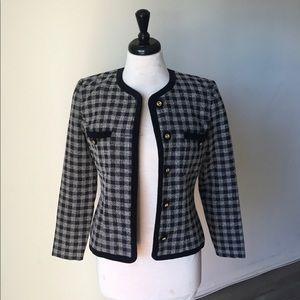 Vintage 50s Inspired Retro Blazer Tweed